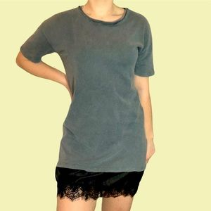 2 for $15! | Topshop t-shirt dress with lace trim